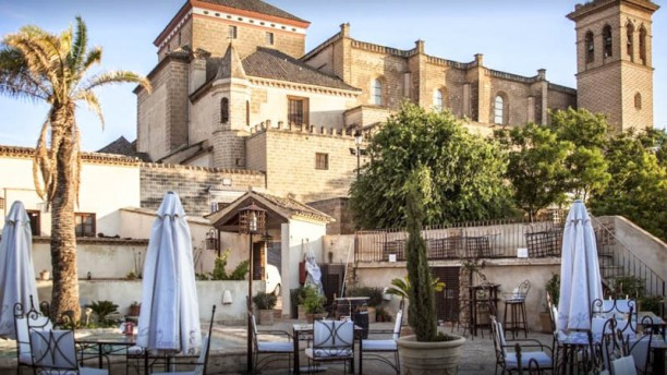 Hospederia Del Monasterio Terraza