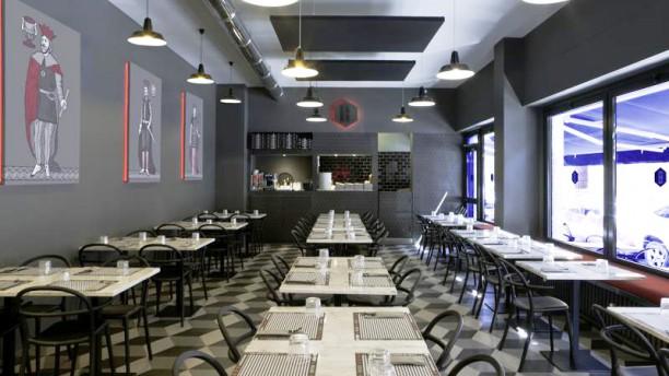 Briscola Pizza Society - Porta Romana Vista della sala