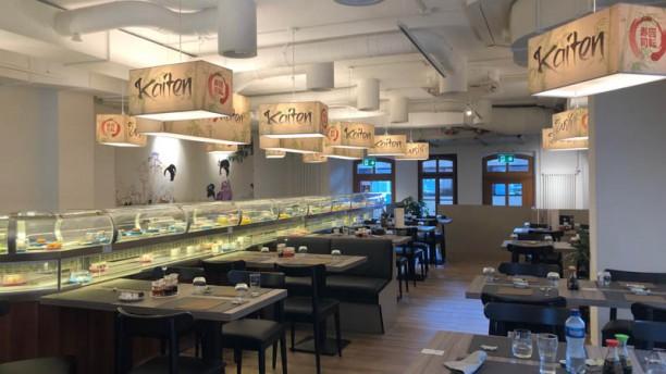 Sushi Kaiten Vue de la salle