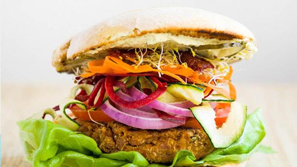 Mejores restaurantes veganos y vegetarianos de Madrid - Viva Burger