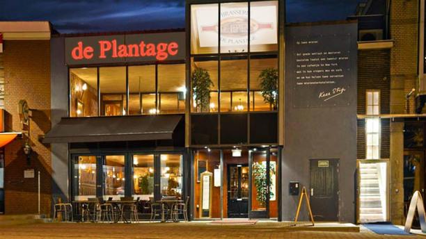 Brasserie de Plantage - Veenendaal Voorzijde Brasserie de plantage