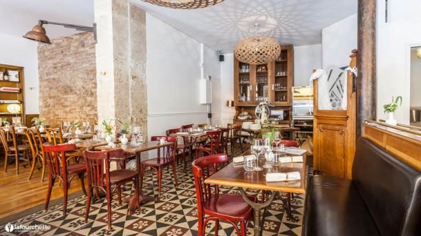 Osteria Ferrara Vue de la salle