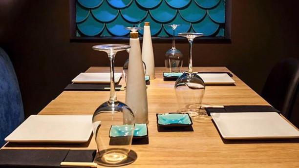 Moss Sushi - Palamós Detalle mesa