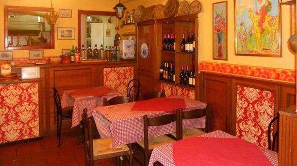 Antica Spaghetteria Francesco e Maria Sofia Vista della sala