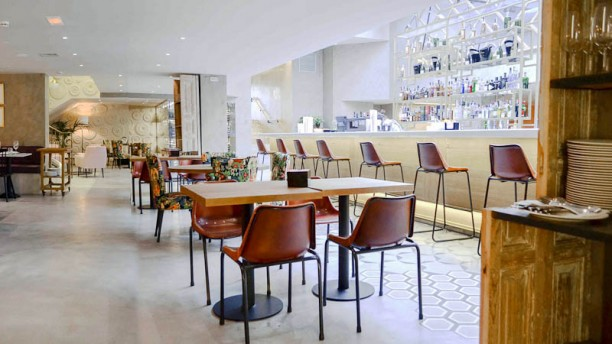 Café Colón Madrid Vista sala