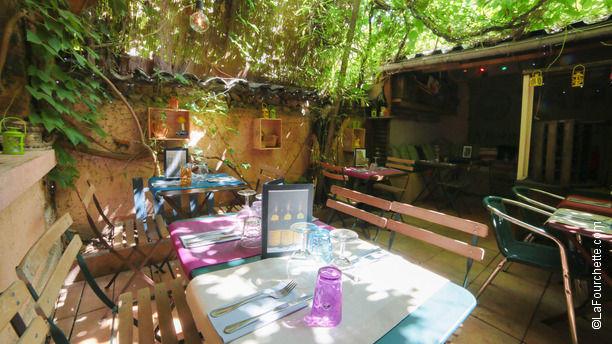 Cuisine et Croix-Roussiens En terrasse