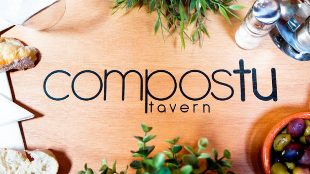 Compostu Tavern detalhe da mesa