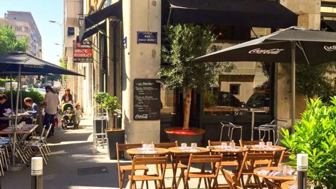 La terrasse d'été - Le Book-Lard, Lyon