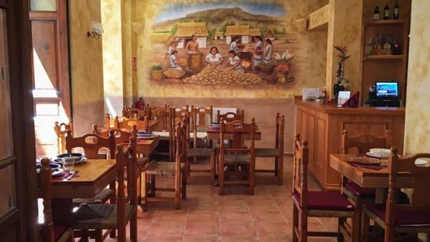 Tamán Sala del restaurante