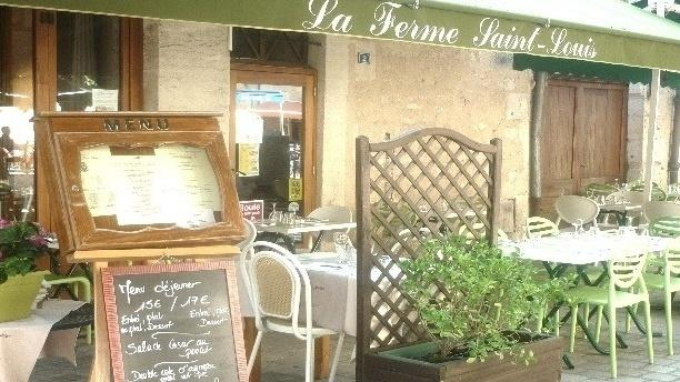 la ferme saint louis restaurant 2 rue saint louis 24000 p rigueux adresse horaire. Black Bedroom Furniture Sets. Home Design Ideas