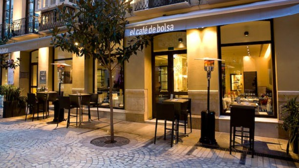 El Café de Bolsa Vista entrada