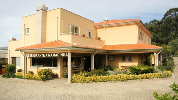 A Ramadinha fachada do restaurante