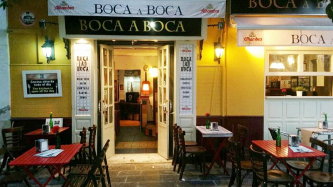 Esterior con terraza - Boca a Boca, Sevilla