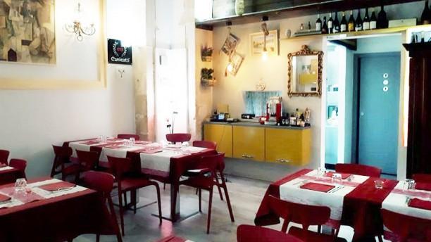 Anima Sicula Wine & Restaurant Vista della sala