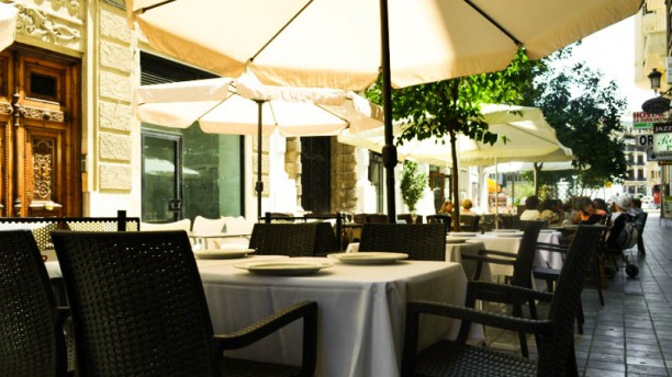 Chez Lyon Vista terraza