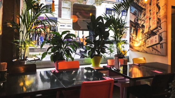 Thai Streetfood Restaurant interieur