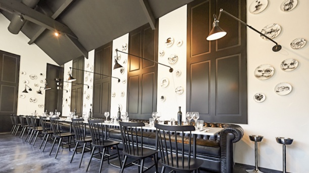 Brasserie RN Louvain La Neuve Vue salle