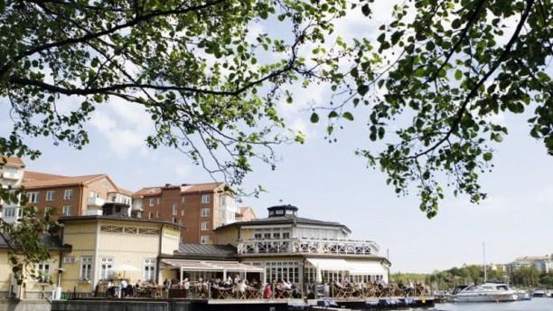 Sjöpaviljongen Restaurangens front