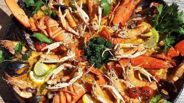 Capri 1960 Paella homards et lamgoustines