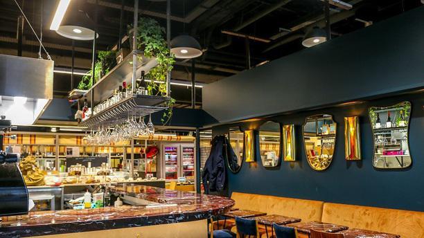 Le Café du Marché interieur