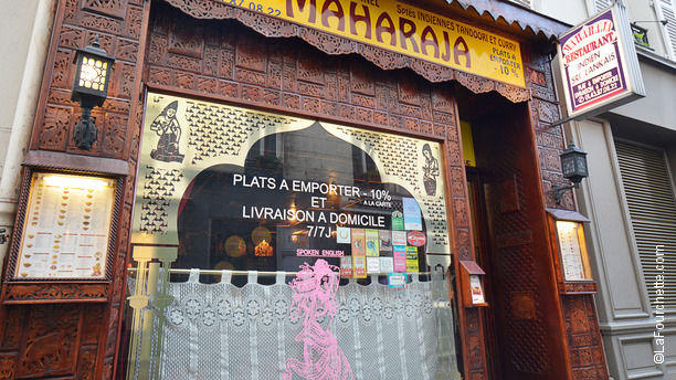 Restaurant Indien  Rue De La Course