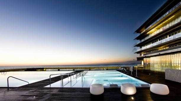 Restaurante del Parador de Cádiz Vista piscina
