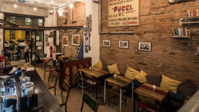 Vista sala - Funtanir Bistrot, Bologna