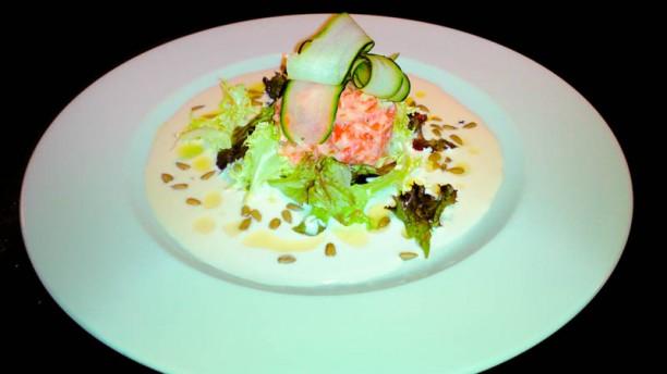 Taberna la Retama Tartar de salmon
