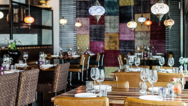 Restaurant Mandalin Het restaurant