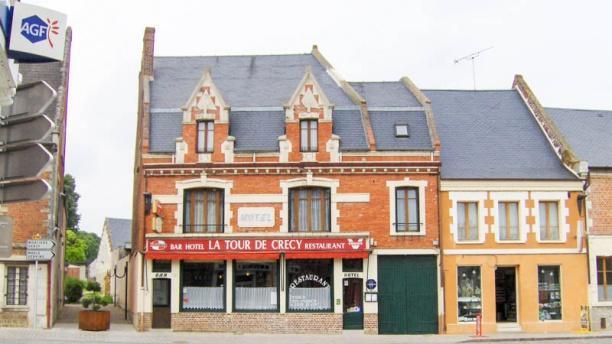 Restaurant La Tour de Crécy Vue façade