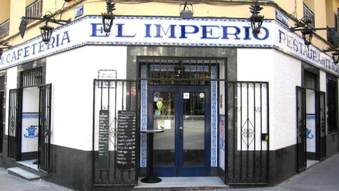 Fachada - El Imperio, Madrid
