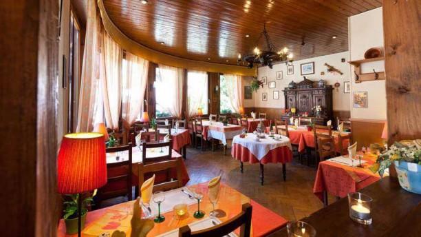 Hotel Restaurant de Gerardmer Vue de la salle