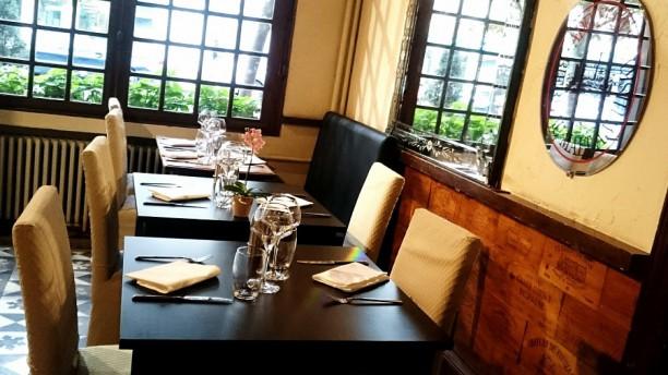 Restaurant de l'Ecu de France salle