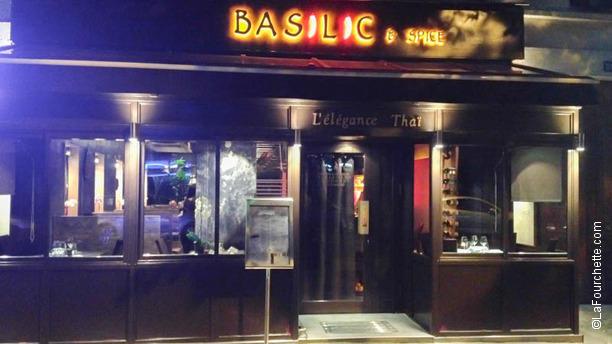 Basilic & Spice Façade Basilic & Spice