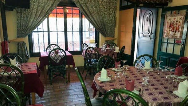 Restaurant Real Indian Magic Vista do interior