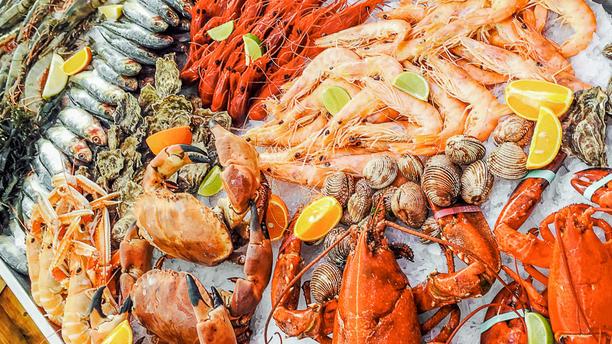 Restaurant Boca Seafood assortiment