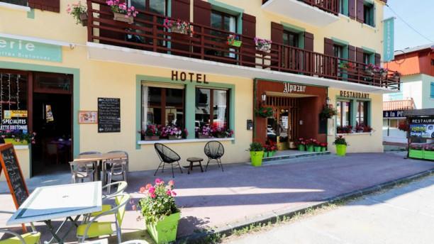 Alpazur restaurant Terrasse
