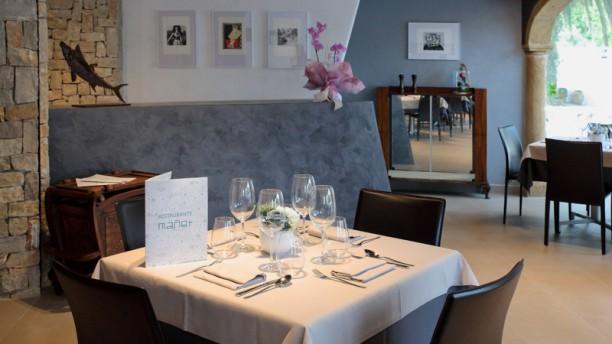 Mañet Sala del restaurante