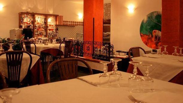 Ristorante Pizzeria Corallo sala esotica