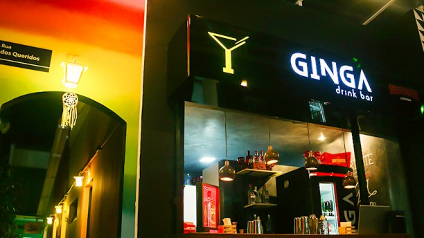 Ginga Drink Bar Entrada