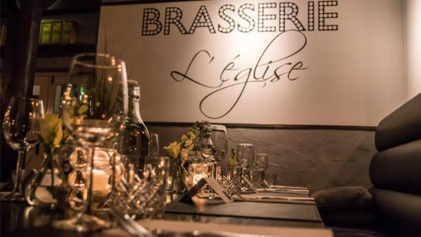 Brasserie L'église interieur