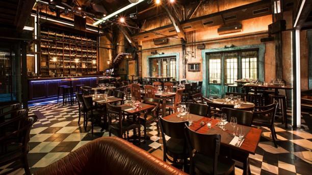 Le Diskret Salle du restaurant
