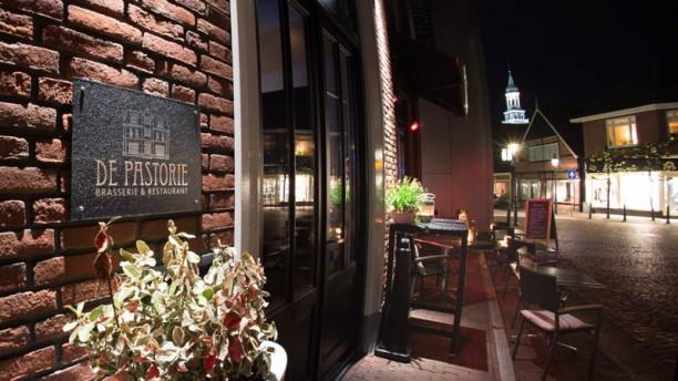 Brasserie Restaurant de Pastorie ingang