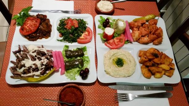 Aux Saveurs du Liban Suggestion de plat