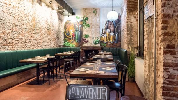 Alle Colonne Pizzeria con Cucina Vista sala