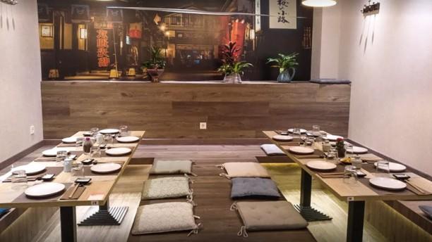Tokyo sushi Vitoria Sala del restaurante