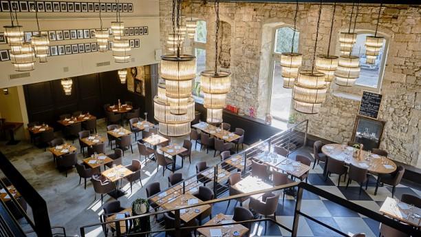 Grand Café Barretta Vue de la salle