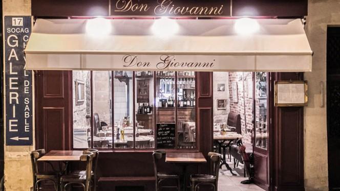 Don Giovanni - Restaurant - Paris