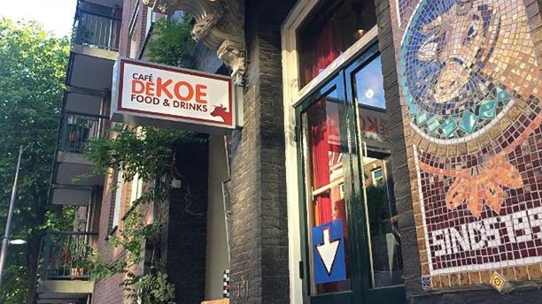 Eetcafé de Koe Het restaurant