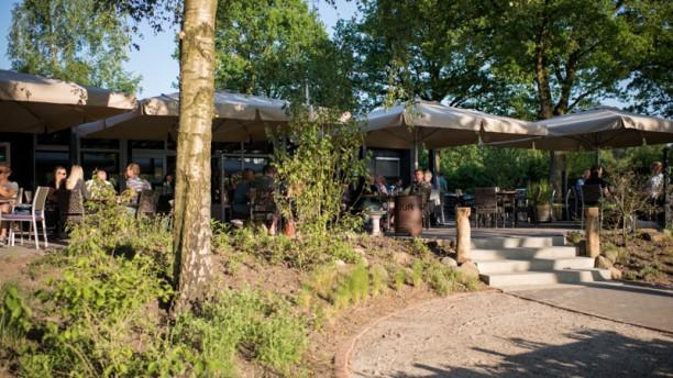 Brasserie de  Berken Voorkant terras